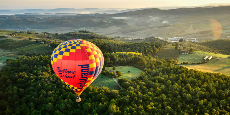 balloing in Tuscany photo credit
