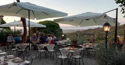 la loggetta restaurant in Paciano