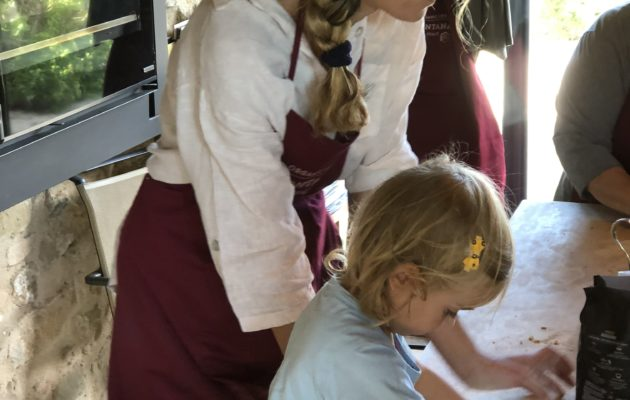 Umbria cooking lessons for kids