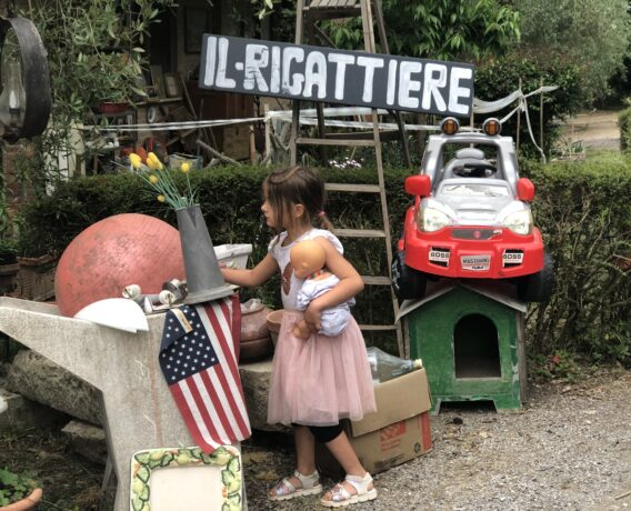 junkyards in Tuscany